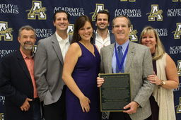 Father of AHN Swimming Inducted into Hall of Fame