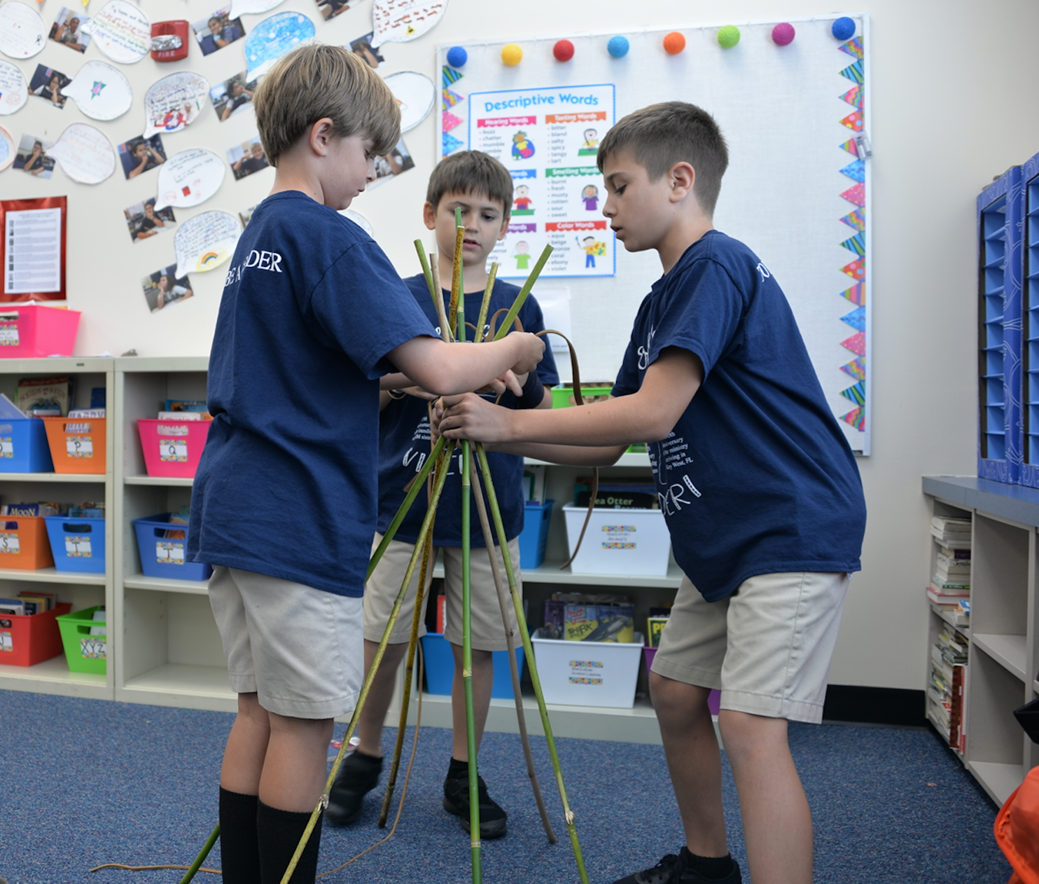 4th Grade Combines Engineering and History in Florida Project