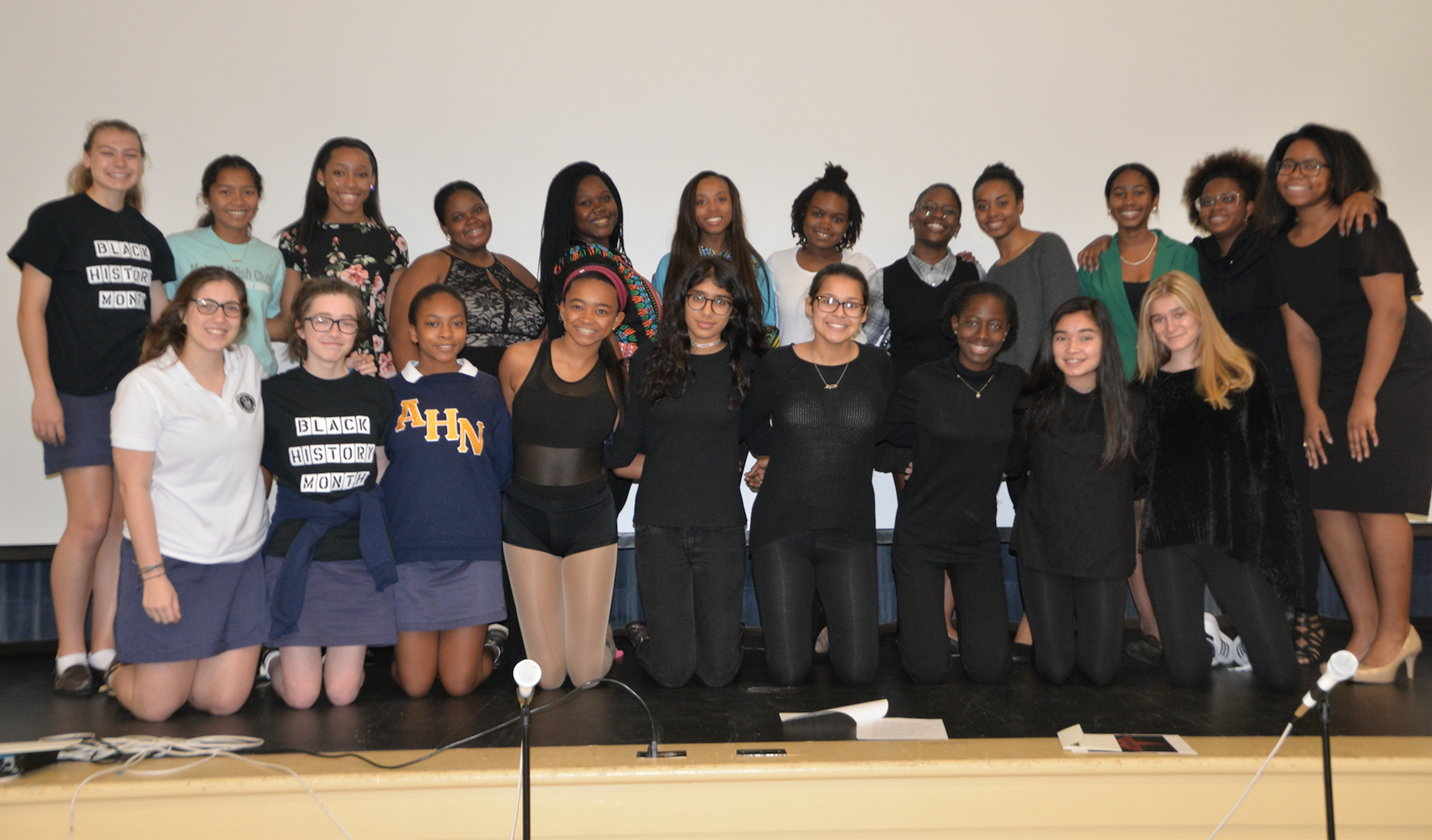 P.O.W.E.R Club Presents Black History Month Assembly