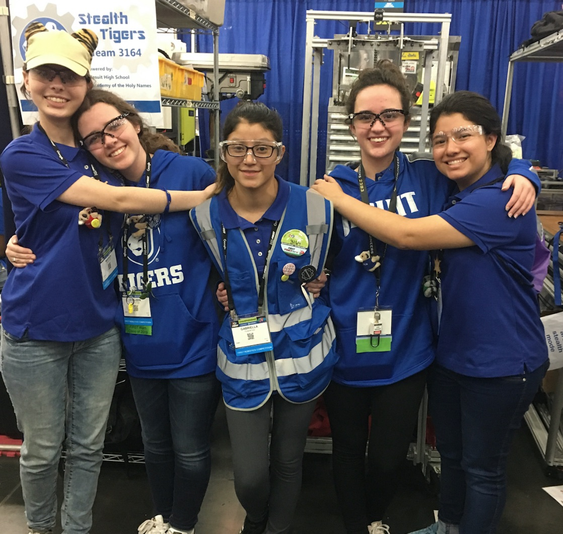 HS Robotics Takes on World's Competition